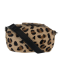Black Colour 9156LE soft box bag leo fur