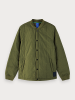 Scotch & Soda 156630 lightweight bomber jacket in military green